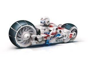 Motorvoertuig met brandstofcel (zoutmotor)