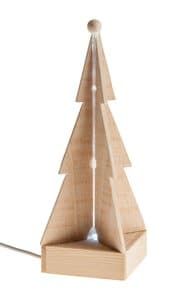 Abeto de Navidad con LED y cable USB