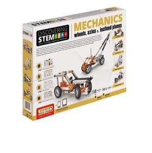 Engino STEM Mechaniek: wielen, assen en niveaus