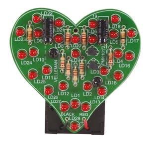 Mini kit: Coeur clignotant MK 101, Ex...,