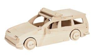 Easy-Line 3D politieauto, 26 onderdelen