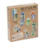 RE-CYCLE-ME divertimento creativo robot,
