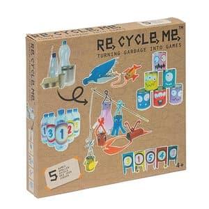 RE-CYCLE-ME knutselpakket - spelletjes