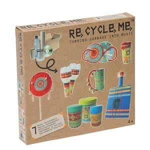 Re-Cycle-Me Bastelspaß Instrumente