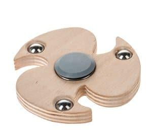 OPITEC houten spinner (afdekkapjes van hout)