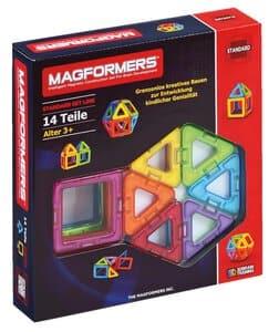MAGFORMERS magneet set - driehoek/vierkant, 14-dlg