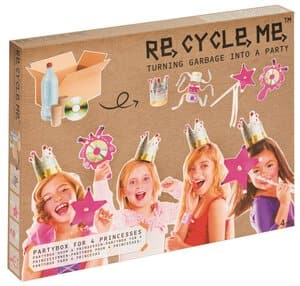 RE-CYCLE-ME knutselset - Prinsessen Party