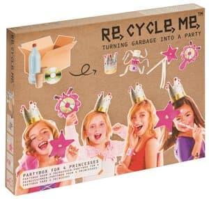 Kit creativo RE-CYCLE-ME - Fiesta de princesas