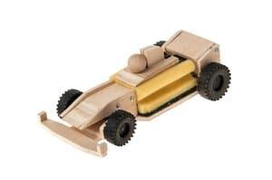 Sponsvoertuig - racer met elektro-aandrijfmotor