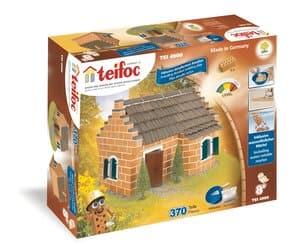 Teifoc stenen bouwdoos Historisch huis, 370 delig