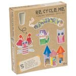 Divertidos tubos de papel RE-CYCLE-ME,tubos cartón