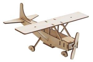 Easy-Line houten vliegtuig - Cessna