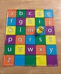 TTS Matte Alphabet