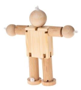 Holzgelenkfigur Elastico