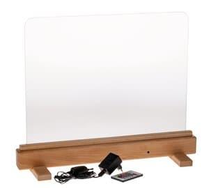 LED-Tafel, inkl. Aufbewahrungstasche (56 x 47 cm)