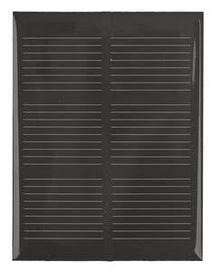 Zonnecel gegoten, 300 mA - 1,5 V