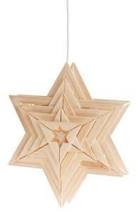 Easy-Line kerstster Sirius met elektroset + lampje