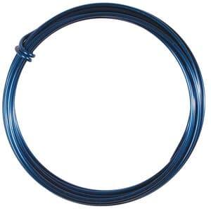 Aludraht (2,0 mm), 3 m Ring blau