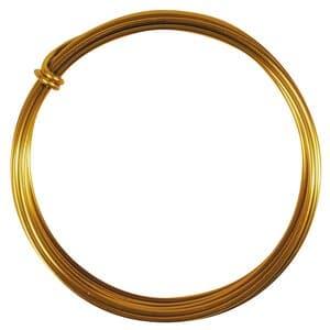 Aludraht (2,0 mm), 3 m Ring gold