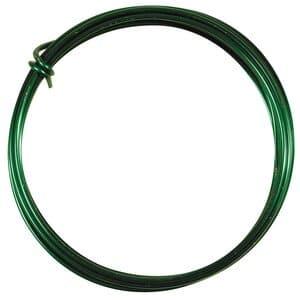 Aludraht (2,0 mm), 3 m Ring grün