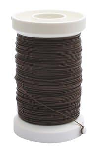 Bindedraht (0,35 mm) - 100 m braun
