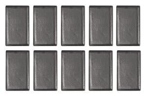 Blokmagneten, 10 stuks