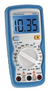 Peaktech digitale multimeter 1035