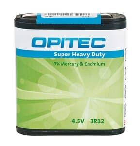 OPITEC platte batterij 4,5 V