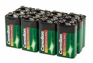 Blokbatterij 9 V, standaard, per stuk