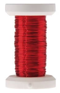 Draad (0,25 mm) - 50 m rood