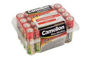 Batterie - Alkaline LR06 Mignon AA, 24 Stück