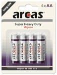 Batterie - Mignon Super Heavy Duty R06 AA, 4 Stück