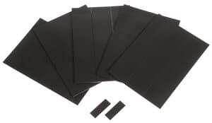 Magnet Pads selbstklebend, 180 Stück Rechtecke