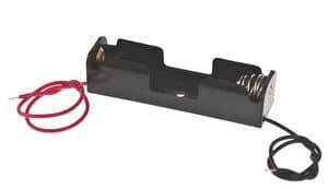 Portapilas con cables ( 1 x AA)