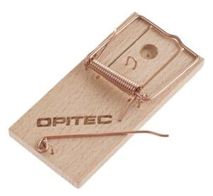Muizenval met Opitec logo