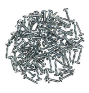 Schroeven rondkop/kruiskop (2,2 x 9,5) 100 stuks