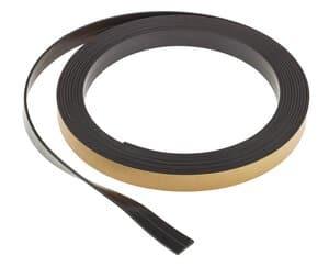 Magneetband,zelfklevend, 3 m (12,7 x 1,5 mm)