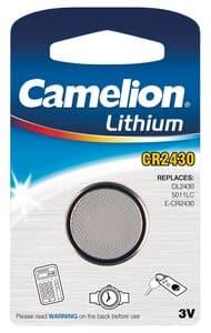 Pile bouton Lithium Camelion CR2430 3V