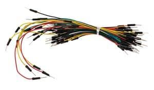 Steckplatinen Leitungen, 65 Stück gemischt