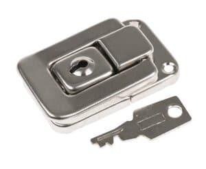Kofferslot met sleutel