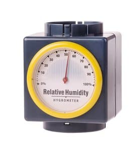 Hygrometer voor het basis weerstation