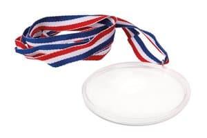 Kunststof medaille met band