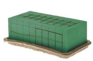 Biodur steekschuim - nat (230 x 110 x 80 mm)