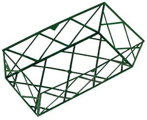 Brique grillage en plastique vert, 24 x 12 x 8cm