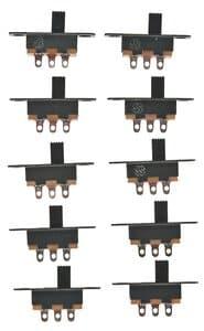 Mikro-Schiebeschalter,  10 Stück