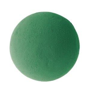 Steekschuim bol - nat (ø 120 mm) groen