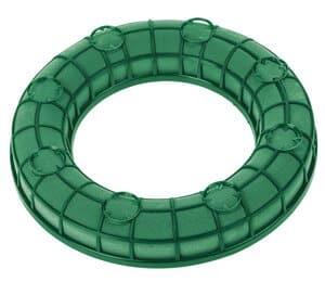 Steekschuim ring (nat) in frame (ø 260 x 40 mm)
