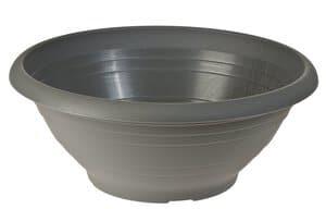 Kunststoff-Pflanzschale, anthrazit (200 x 80 mm)
