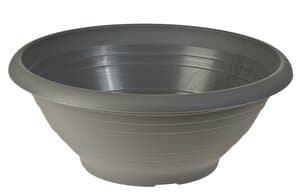 Kunststoff-Pflanzschale, anthrazit (350 x 140 mm)