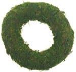 Krans van mos (150 x 30 mm) groen